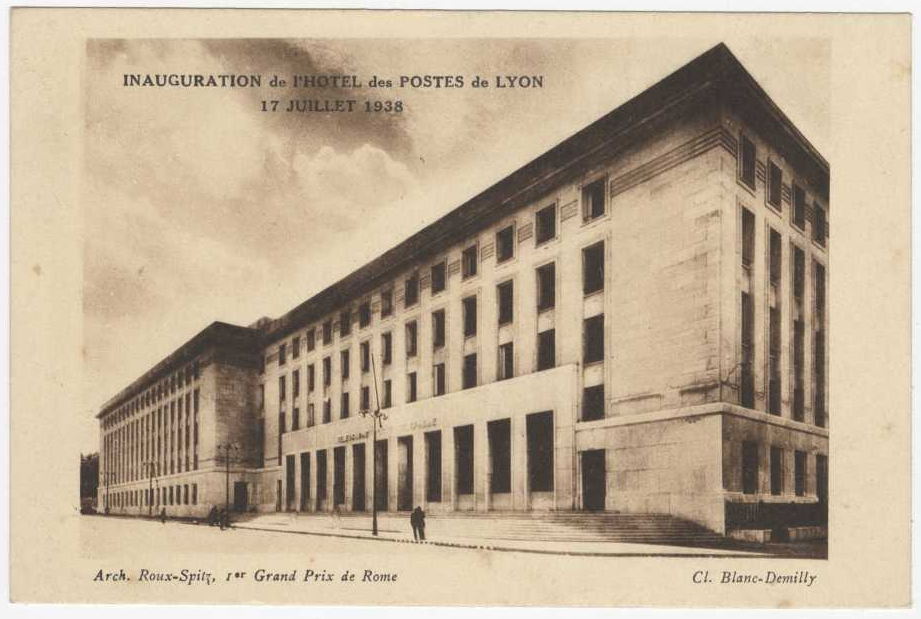 Carte postale des Archives municipales de Lyon