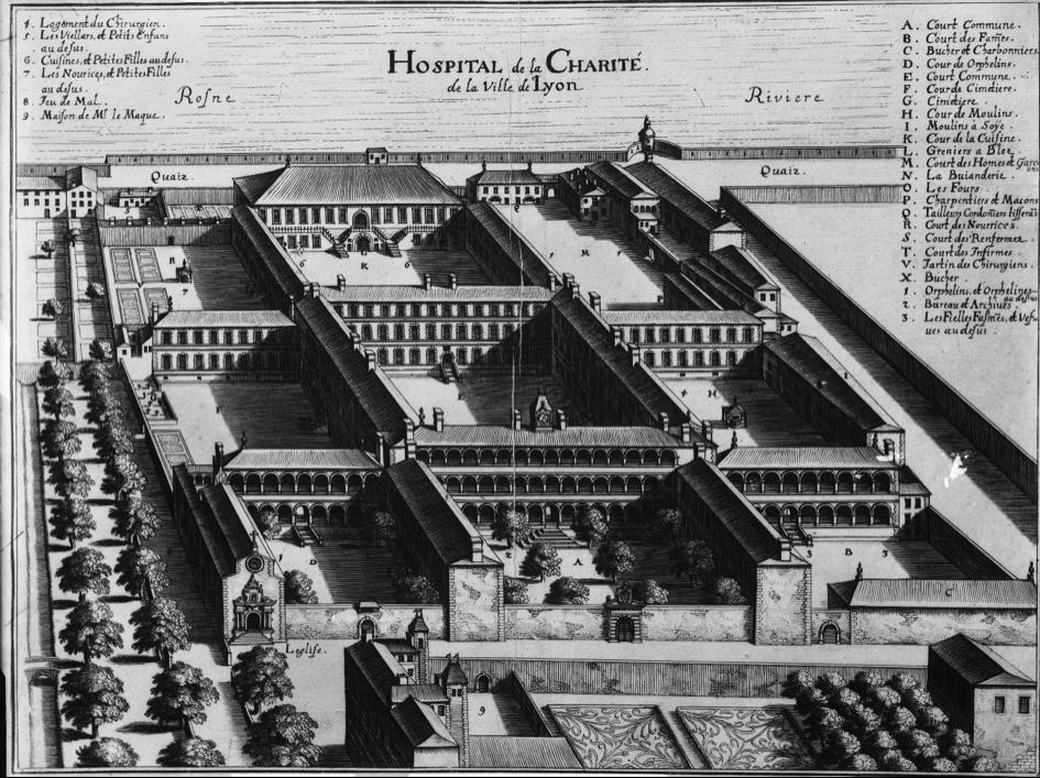 Bibliothèque municipale de Lyon / P0546 S 221 – plan de 1657