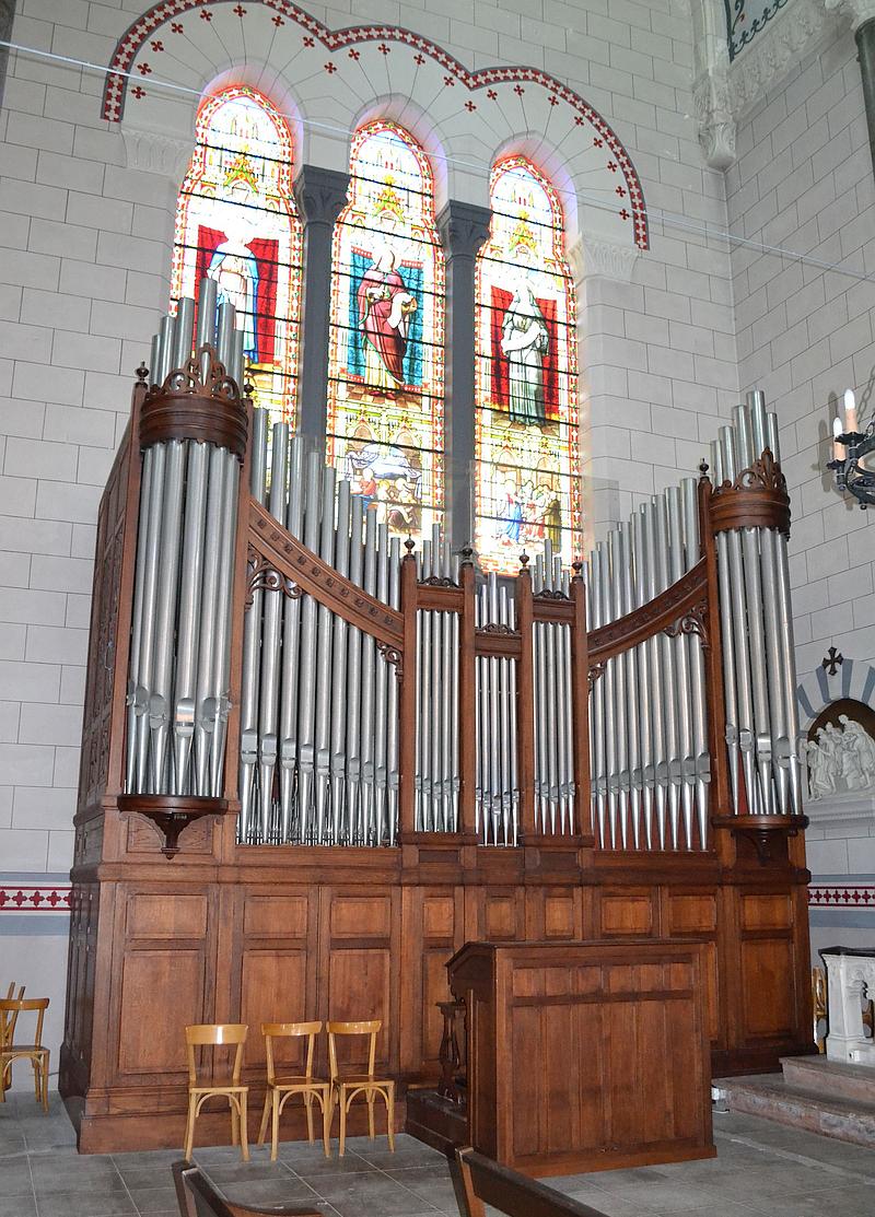 L'orgue de l'église Notre-Dame de Thisy